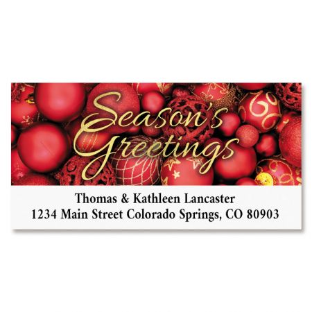 Abundant Deluxe Return Address Labels