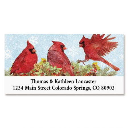 Cardinal Tree Deluxe Return Address Labels