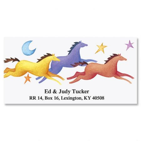 Moon Prance Deluxe Return Address Labels