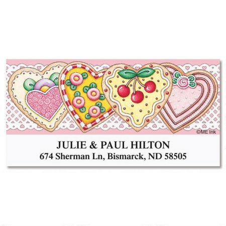 Sweetheart Treats  Deluxe Return Address Labels