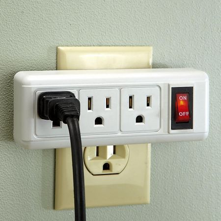 Triple Outlet Switch