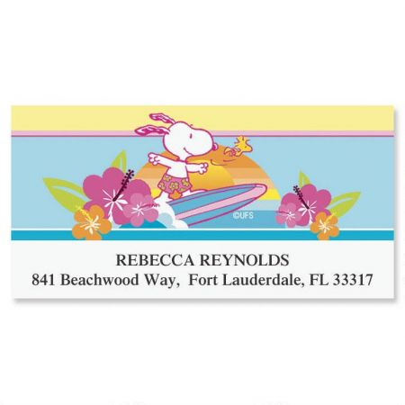 PEANUTS®  Best Friends Deluxe Address Labels