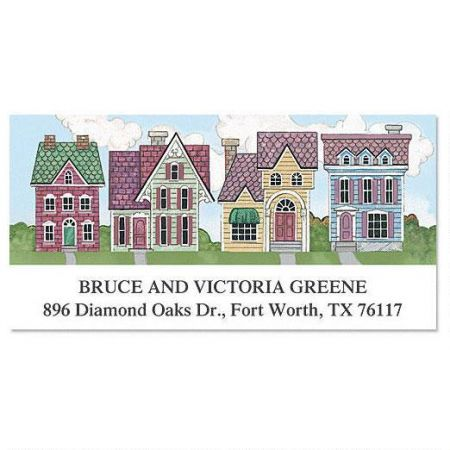 New Neighborhood  Deluxe Return Address Labels