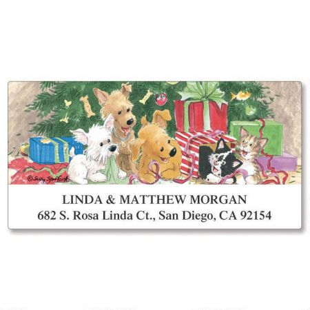 Wags & Whiskers® Deluxe Return Address Labels