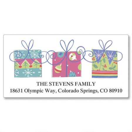 3 Packages Deluxe Return Address Labels