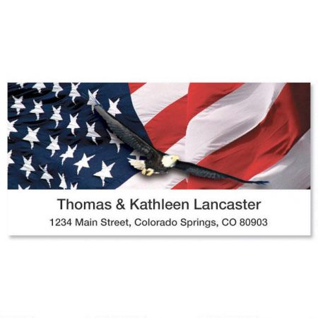 Freedom Deluxe Return Address Labels