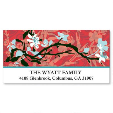 Asian Art  Deluxe Return Address Labels