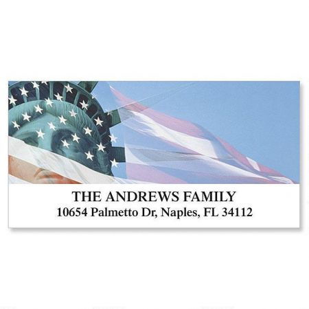 Liberty Deluxe Return Address Labels