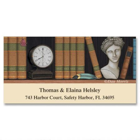 Book Lovers Deluxe Return Address Labels