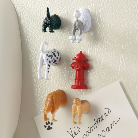 Dog Butt Magnets
