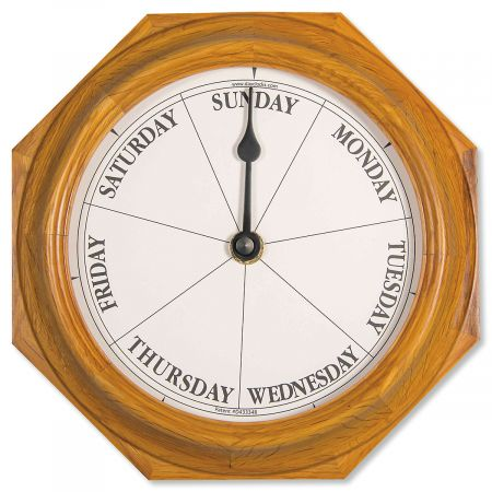 Oak Day Clock
