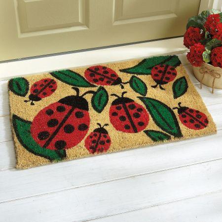 Ladybug Coir Mat