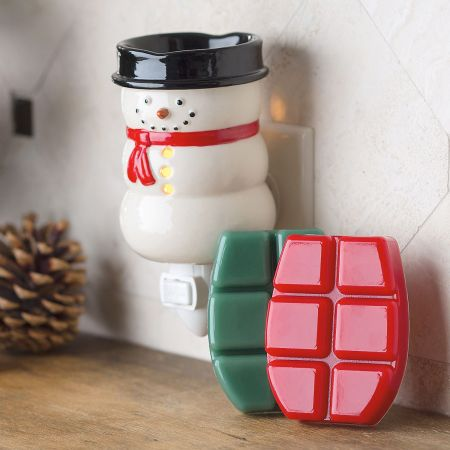 Pluggable Fragrance Snowman & Wax Melts