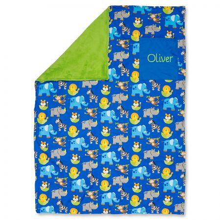 Toddler-Size Zoo Custom Blanket by Stephen Joseph®