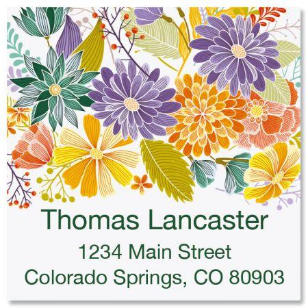 Bloom Square Labels