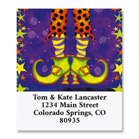 Witchy Feet Select Address Labels