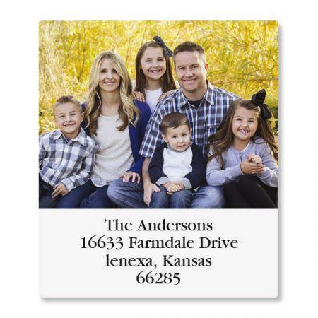 Select Photo Return Address Label
