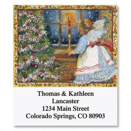 Christmas Angel Select  Address Labels