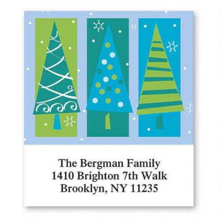 Tree Trio Select Return Address Labels