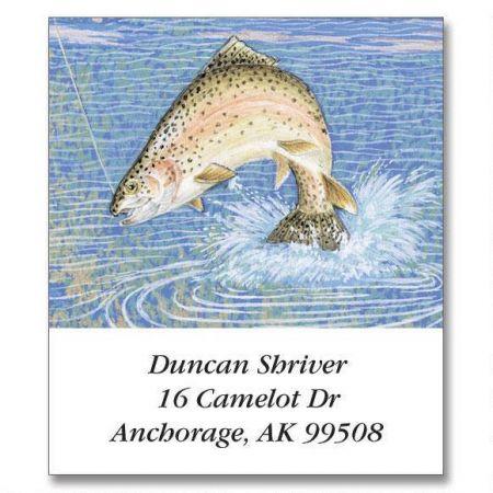 Fishing Lure  Select Return Address Labels