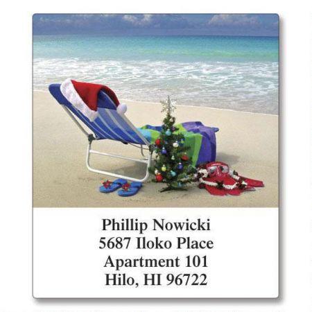 Hawaiian Holiday Select Return Address Labels