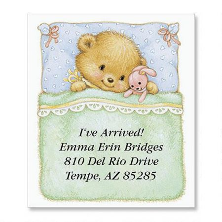Baby Bear Select Return Address Labels