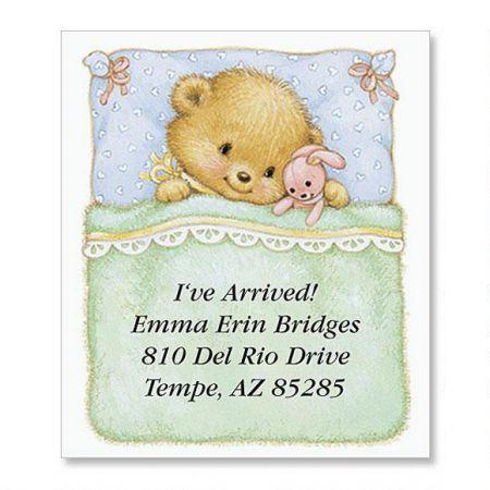 Baby Bear Select Address Labels