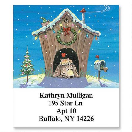 Home for the Holidays Select Address Labels