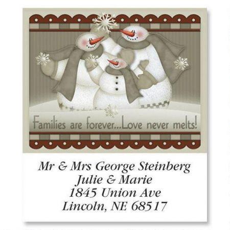 Love Never Melts Select Return Address Labels