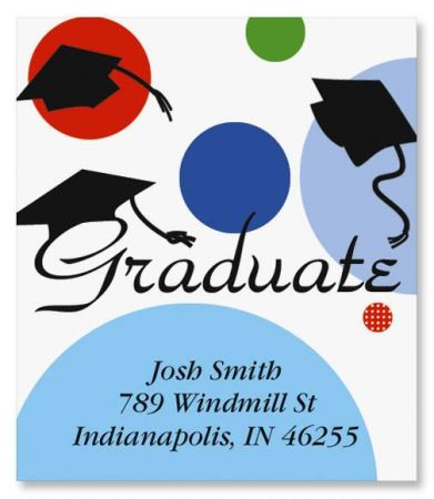 Graduate Select Return Address Labels
