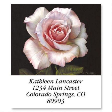 Pretty in Pink Select Return Address Labels