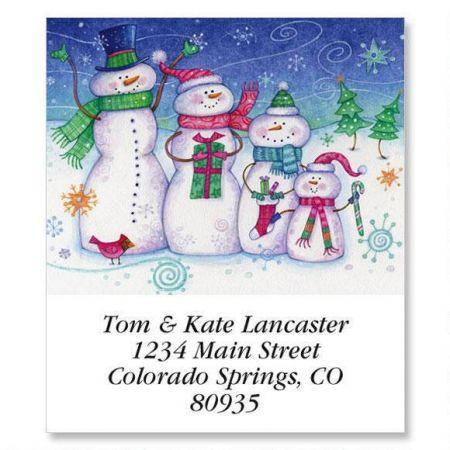 Snow Family Select Return Address Labels