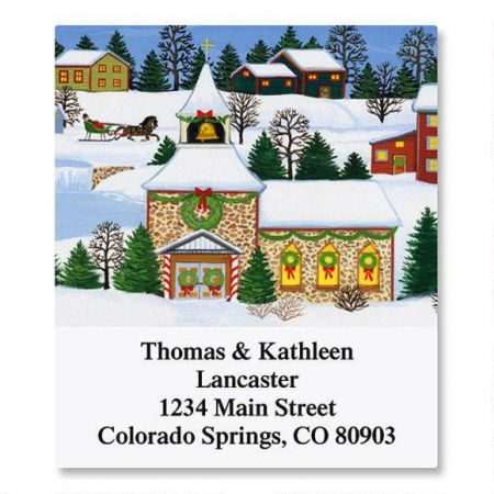 Christmas Past Select Return Address Labels