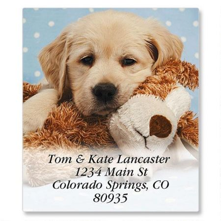 Puppy & Pal Select Return Address Labels