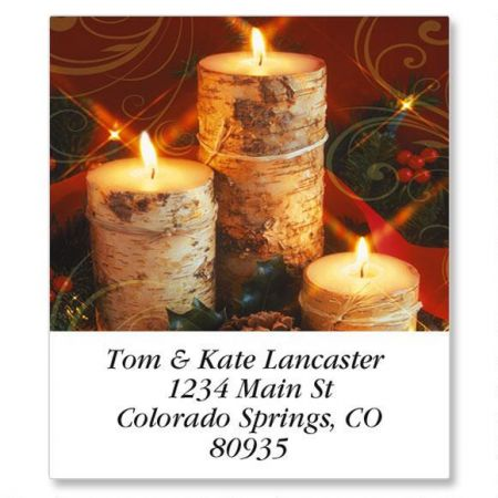 Warm Wishes Select Return Address Labels