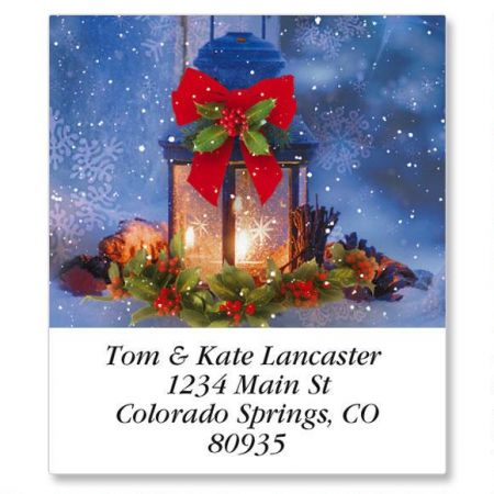 Christmas Calm Select Return Address Labels