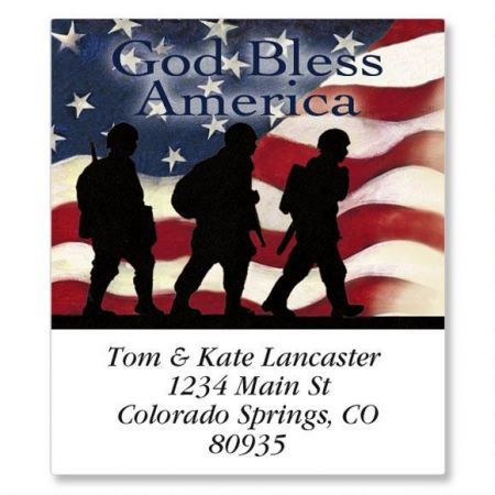 Soldier Select Address Labels