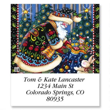 Mary's Woodland Christmas Select Return Address Labels