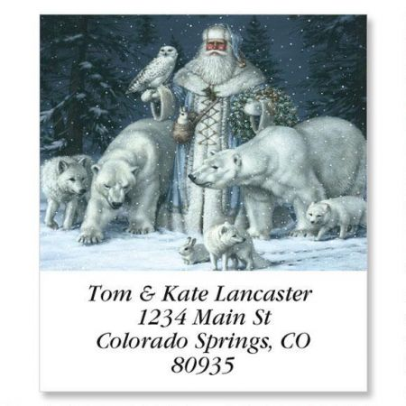 Christmas Splendor Select Return Address Labels