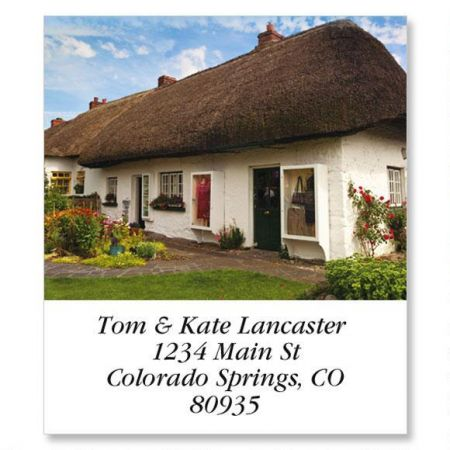 Irish Cottage Select Return Address Labels
