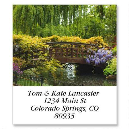 Spring Garden  Select Return Address Labels