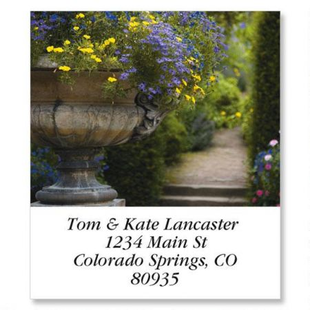English Garden Path Select Address Labels