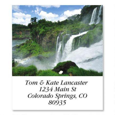 Tumbling Falls  Select Return Address Labels