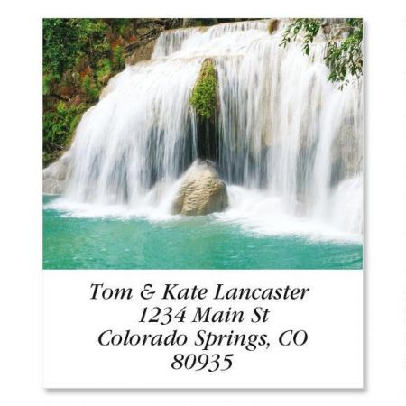 4th Cascade Erawan Falls  Select Address Labels
