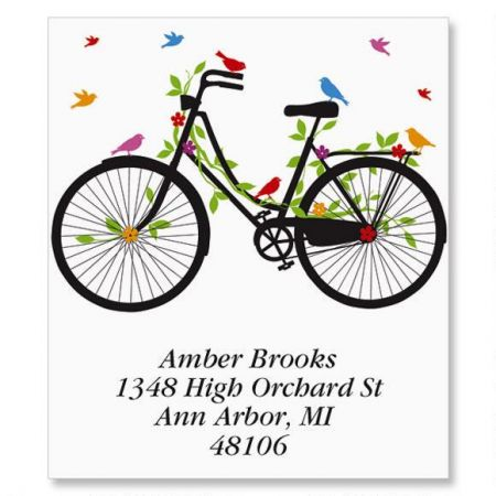 New Spin Select Return Address Labels