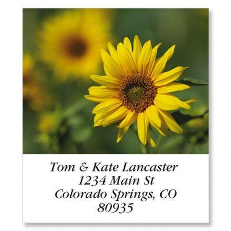 Sunflower Select Address Labels