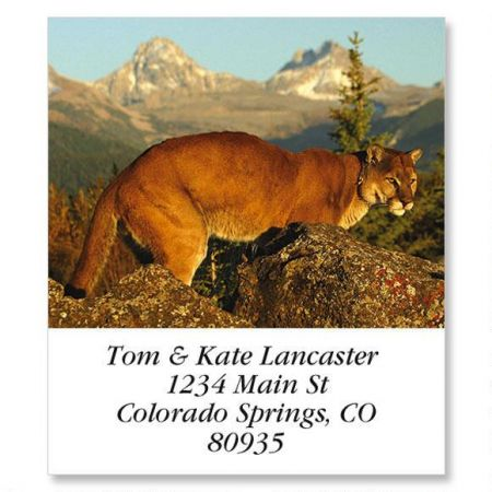 Mountain Lion Select Address Labels