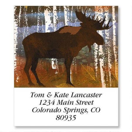 Moose Select Return Address Labels