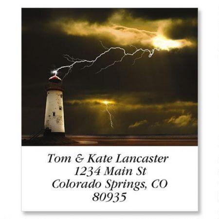 Lightening Rod Select Return Address Labels