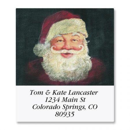 Wanted Santa Select Return Address Labels